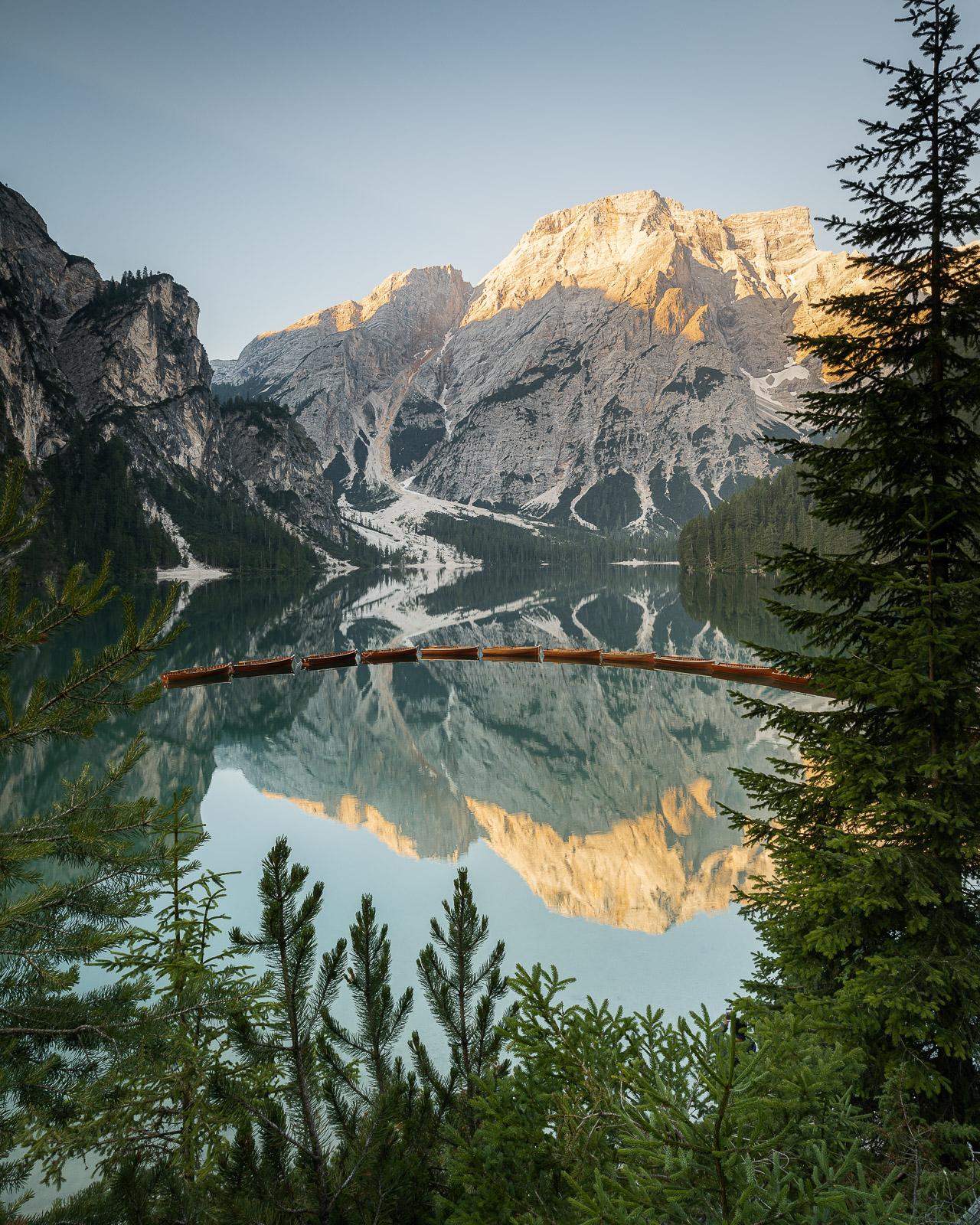 Pragser Wildsee in den Dolomiten - Italien - Stefan Schäfer Landschaftsfotograf