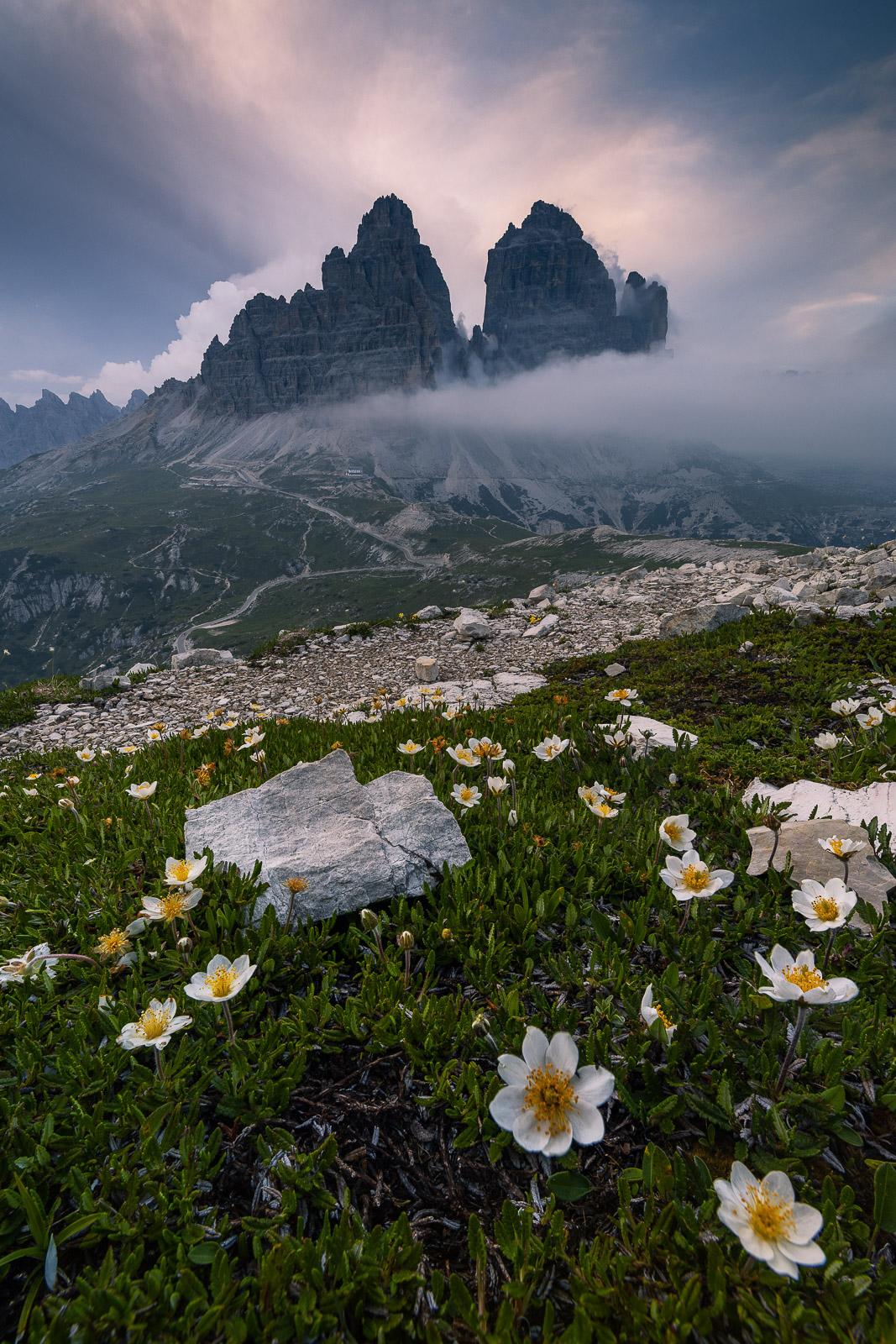 Drei Zinnen Tre Cime in den Dolomiten (Italien) - Stefan Schäfer Landschaftsfotograf