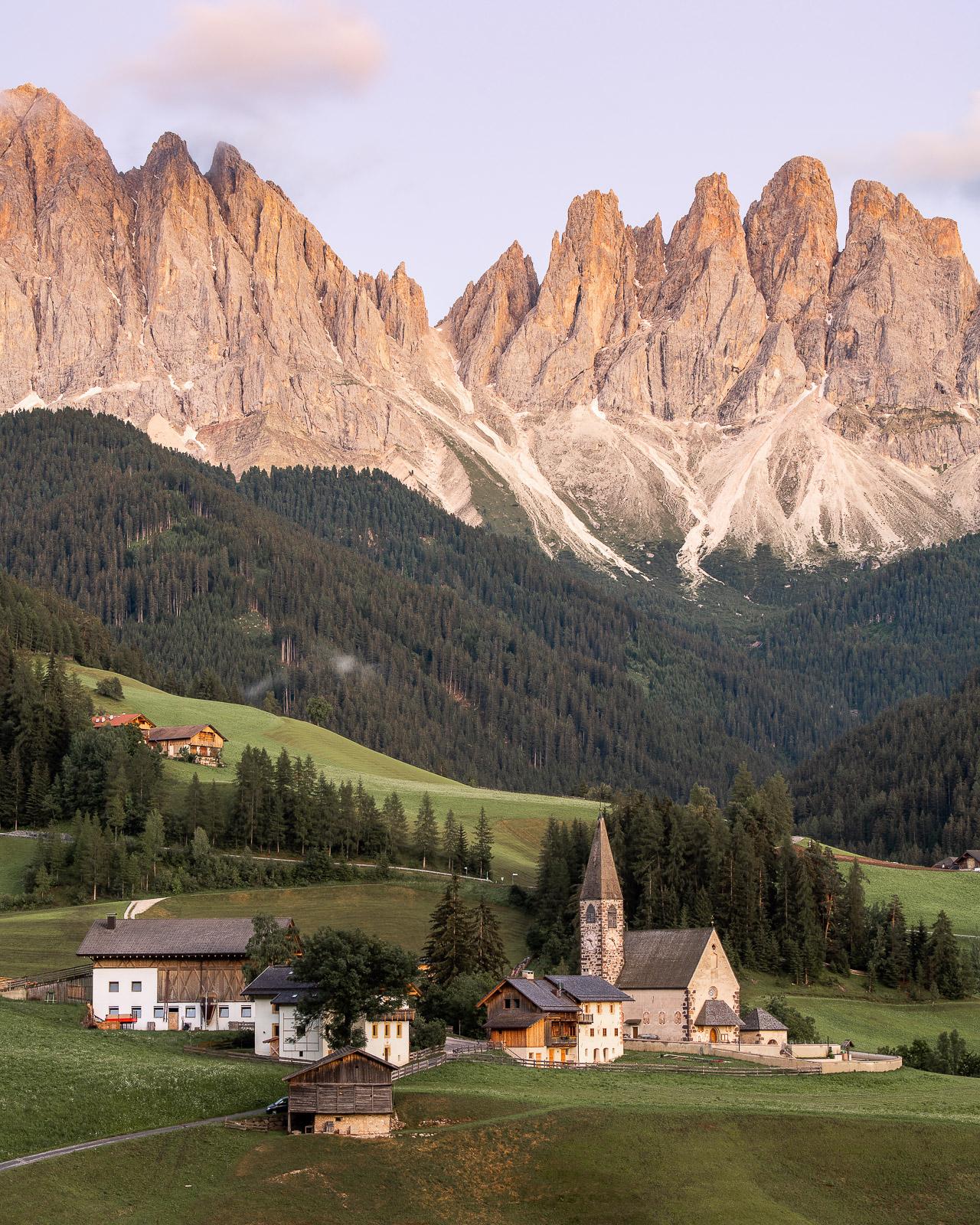 Monte di Funes in den Dolomiten - Italien - Stefan Schäfer Landschaftsfotograf