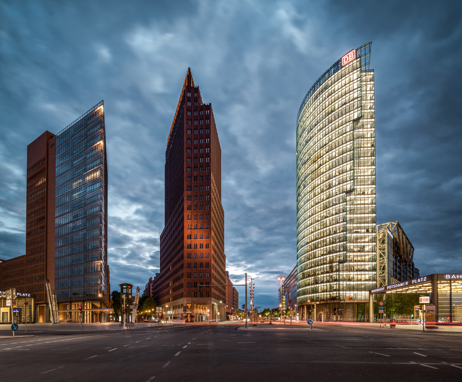 Potsdamer Platz in Berlin - Stefan Schäfer Landschaftsfotograf