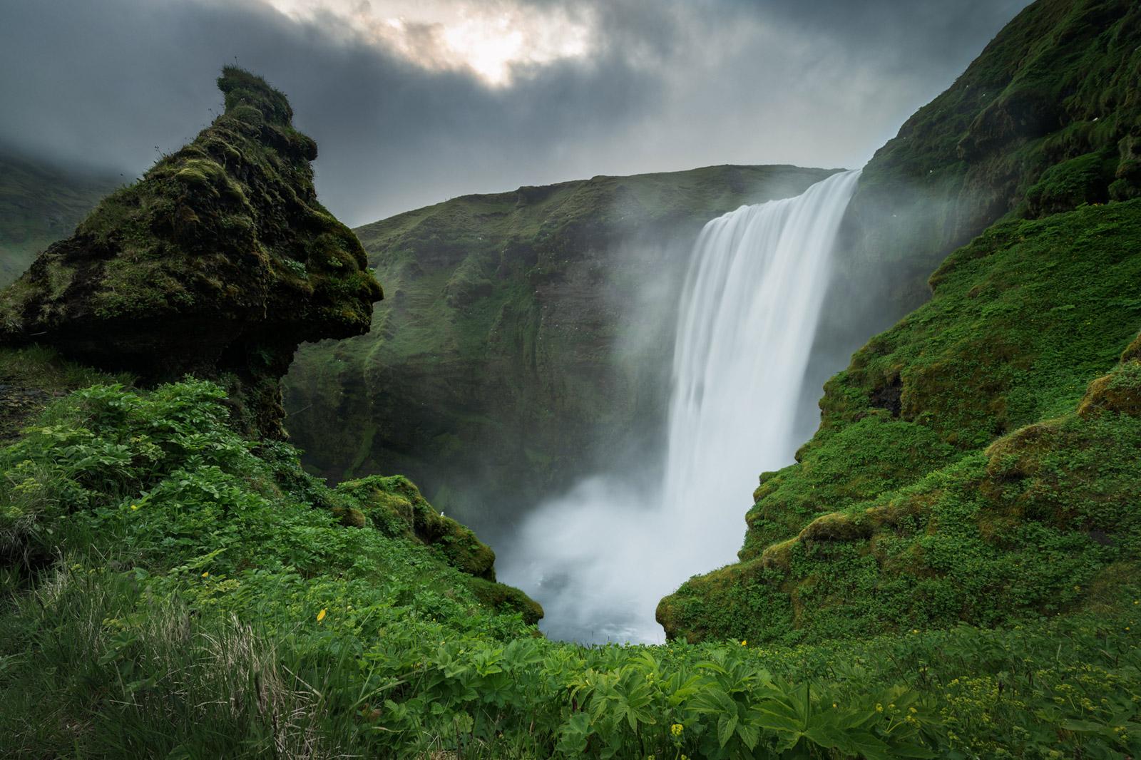 Island Iceland Skogafoss - Stefan Schäfer Landschaftsfotograf
