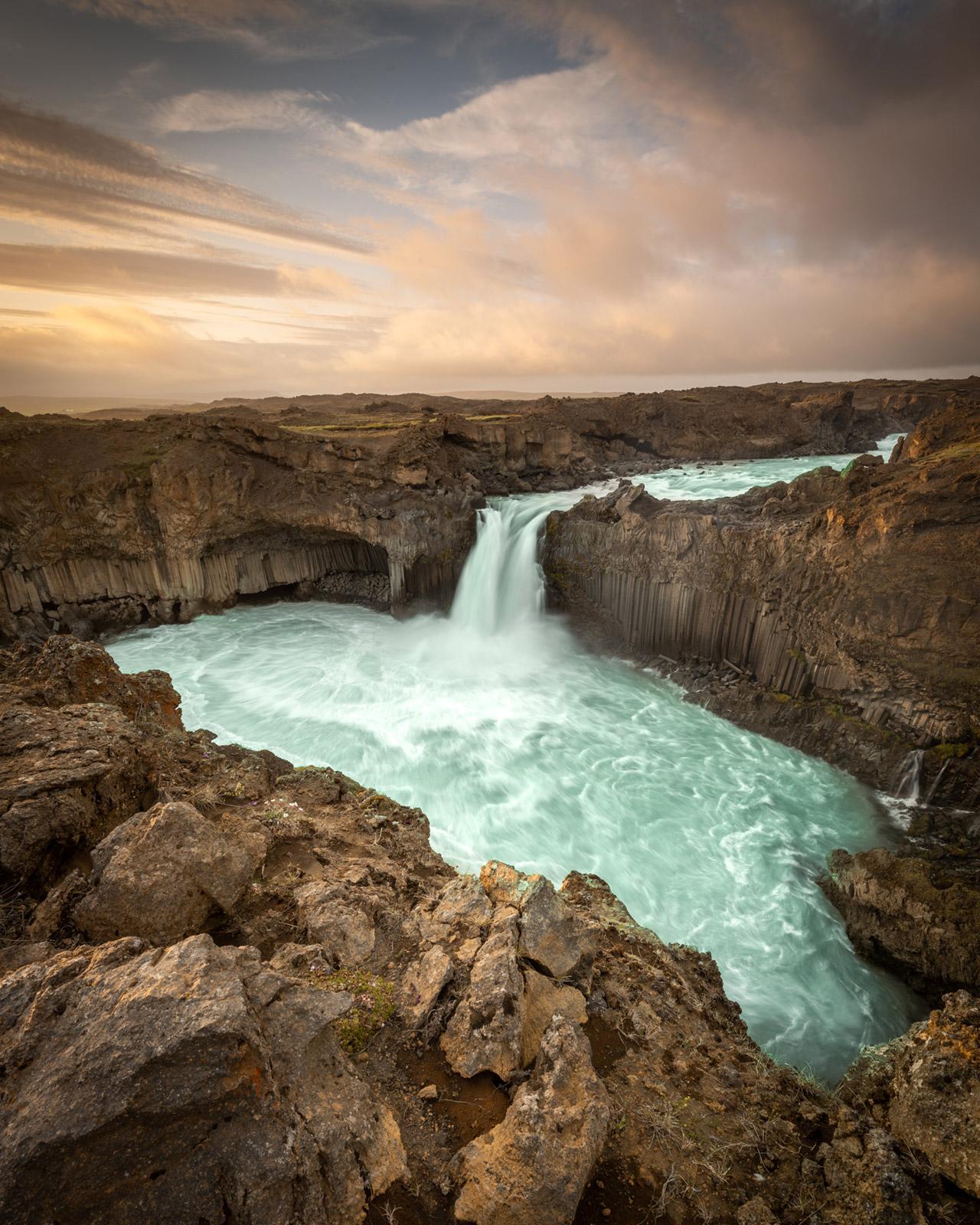 Island Iceland Aldeyjarfoss - Stefan Schäfer Landschaftsfotograf