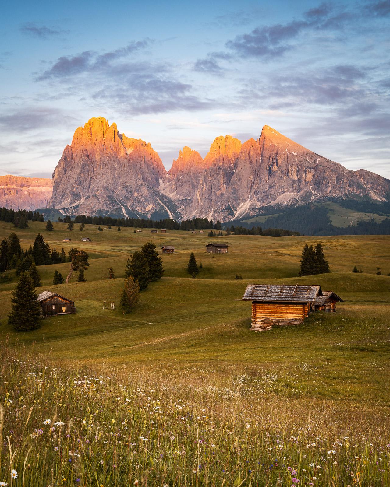 Seiser Alm in den Dolomiten (Italien) - Stefan Schäfer Landschaftsfotograf