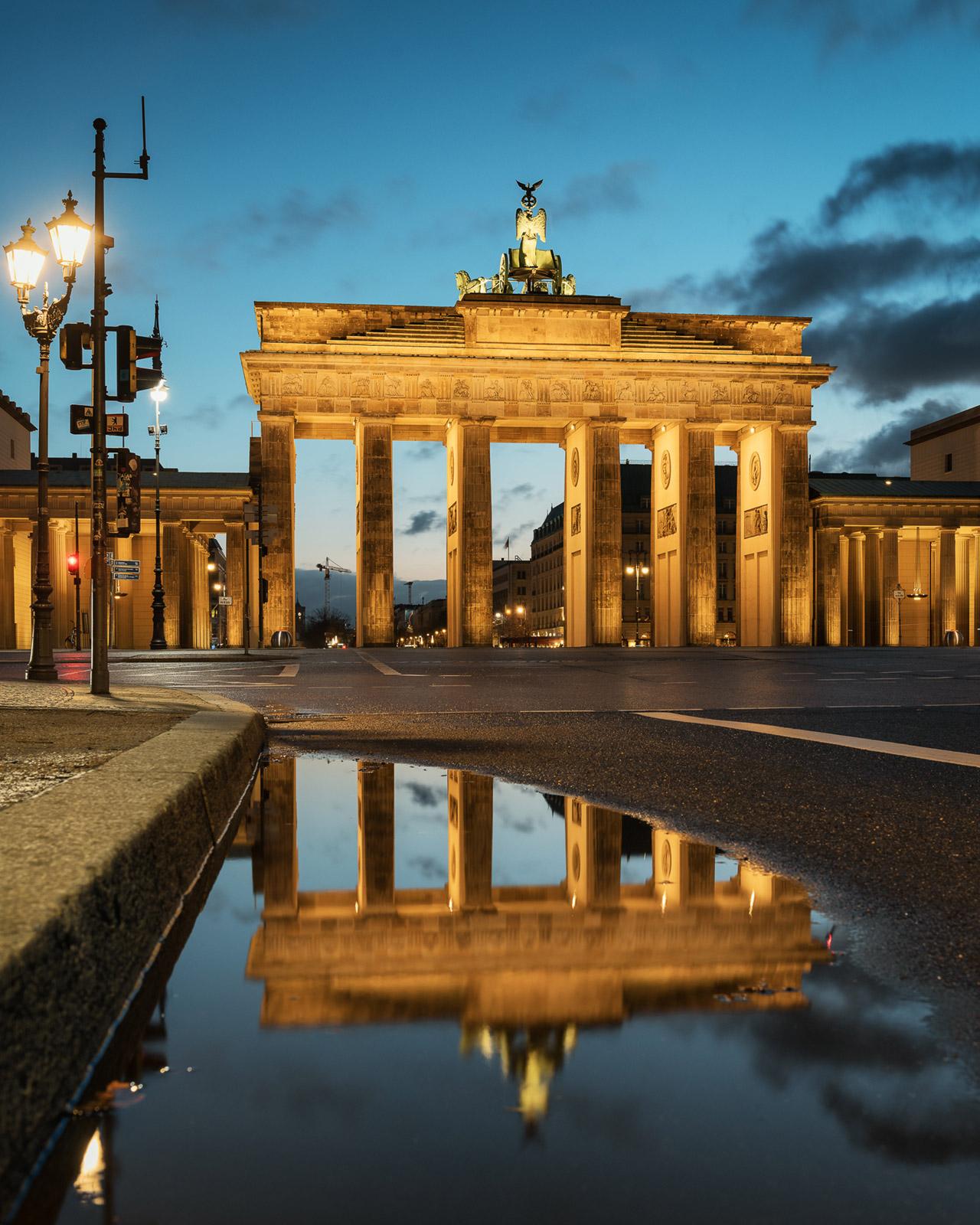 Brandenburger Tor ein Berlin - Stefan Schäfer Landschaftsfotograf