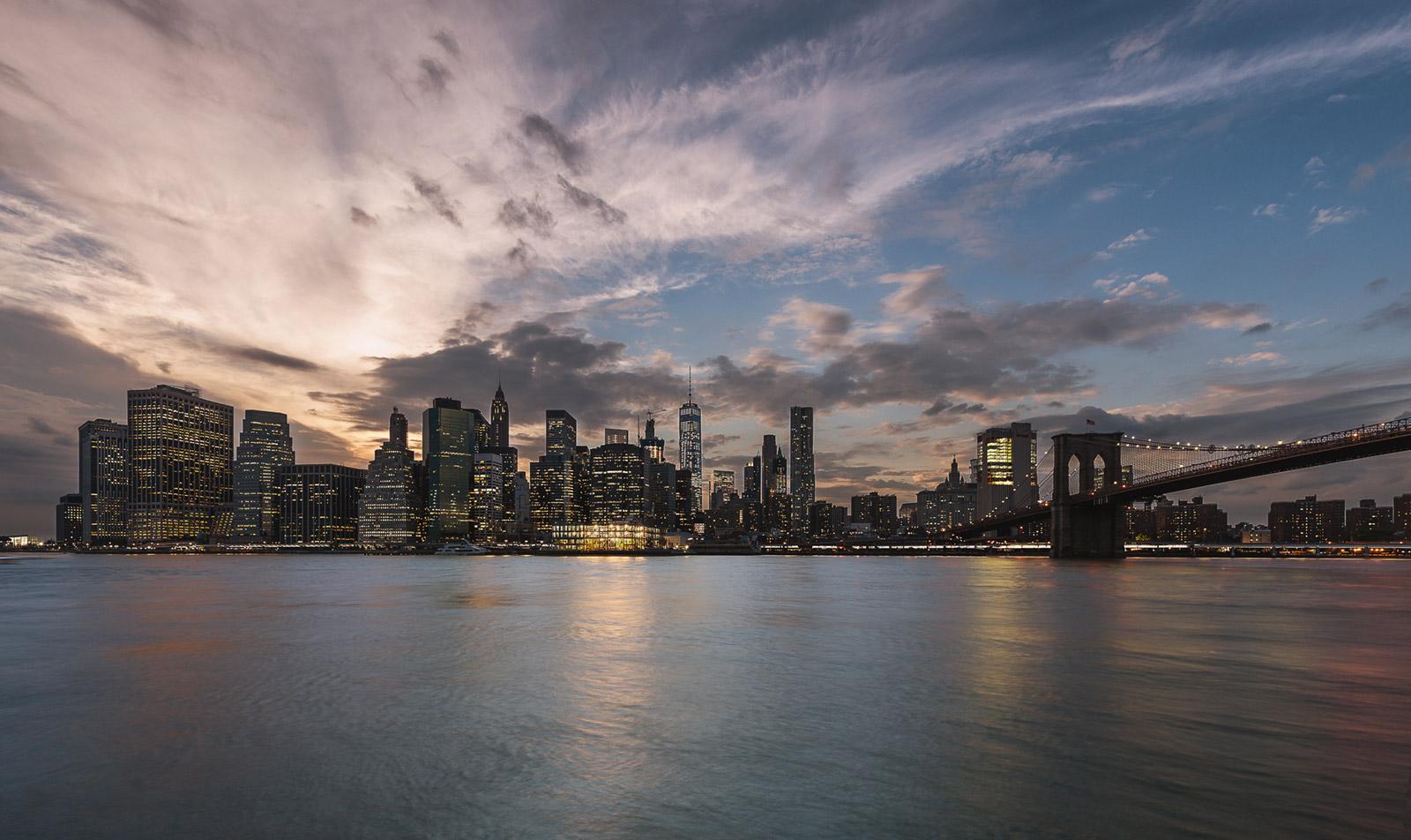 New York Skyline von Brooklyn - Stefan Schäfer Landschaftsfotograf