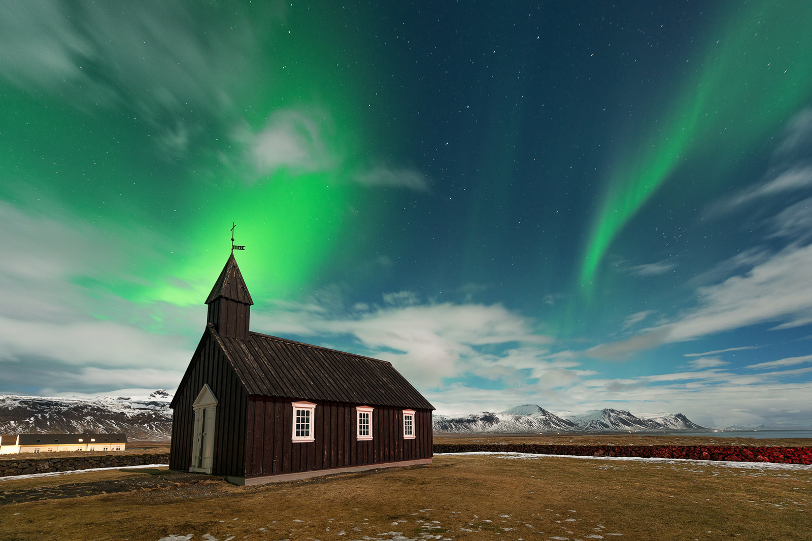 Island Iceland Black Church - Stefan Schäfer Landschaftsfotograf