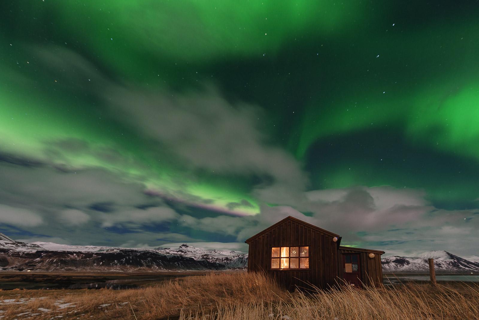 Island Iceland Aurora - Stefan Schäfer Landschaftsfotograf