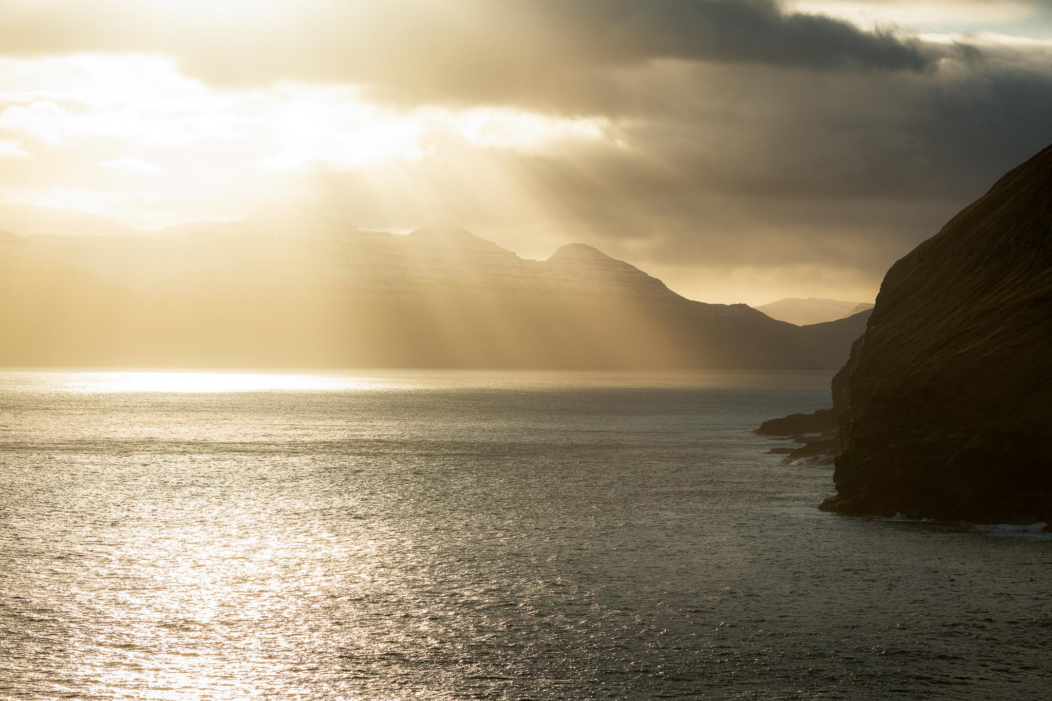 Färöer Inseln Sonnenuntergang - Stefan Schäfer Landschaftsfotograf
