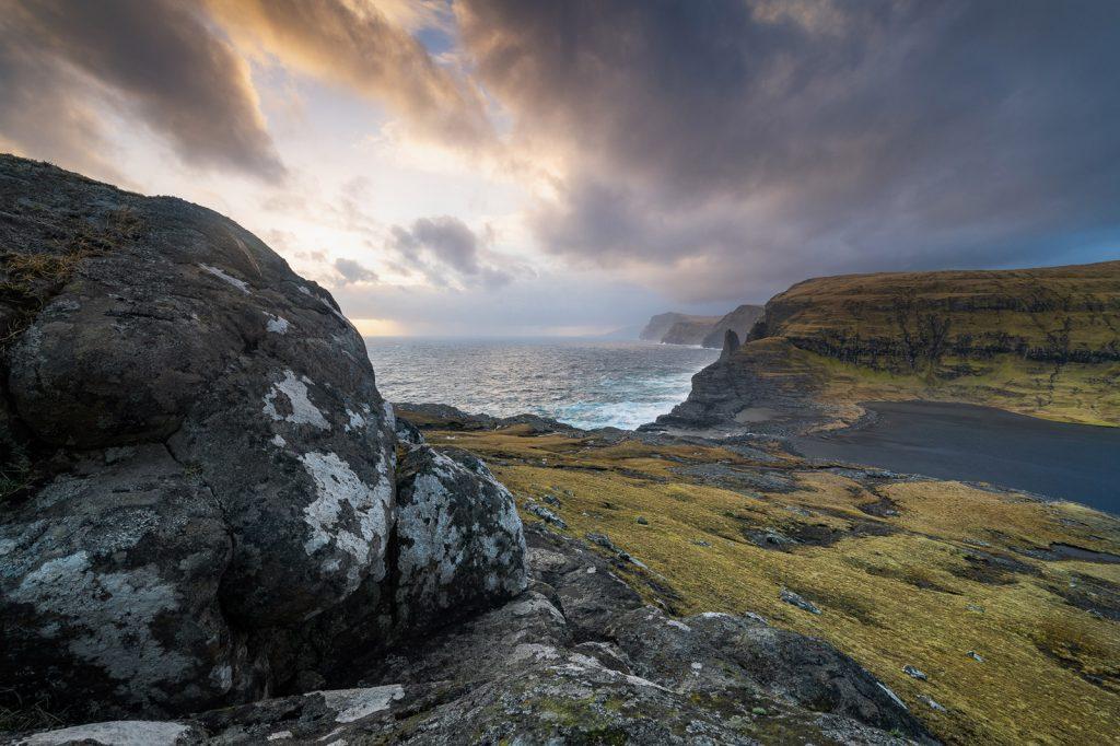 Färöer Inseln dramatische Wolken