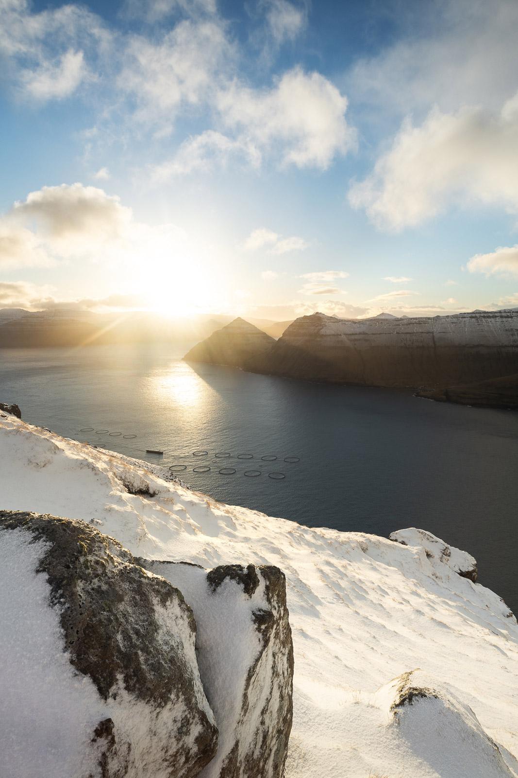 Färöer Inseln Schnee - Stefan Schäfer Landschaftsfotograf