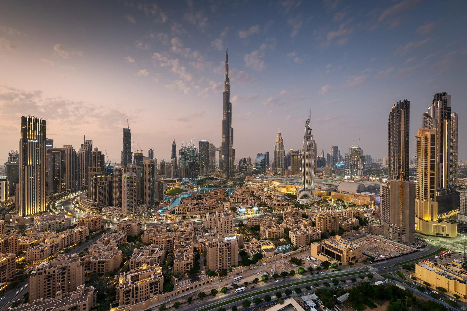 Dubai Downtown - Stefan Schäfer Landschaftsfotograf