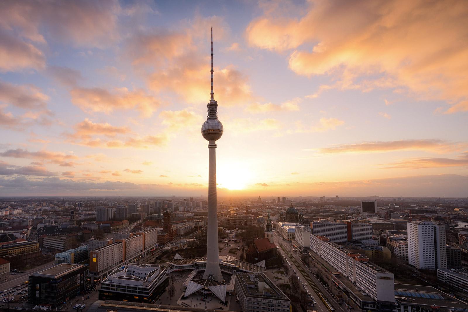 Fernsehturm in Berlin - Stefan Schäfer Landschaftsfotograf