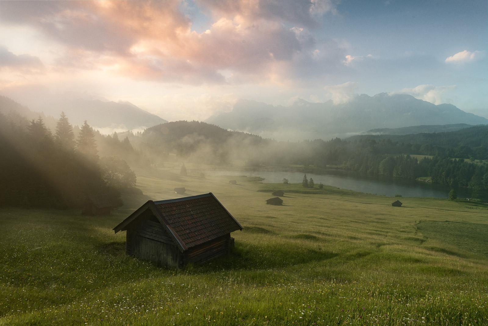 Geroldsee in Deutschland - Stefan Schäfer Landschaftsfotograf