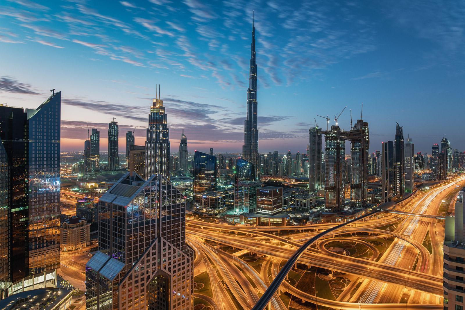 Dubai Skyline - Stefan Schäfer Landschaftsfotograf