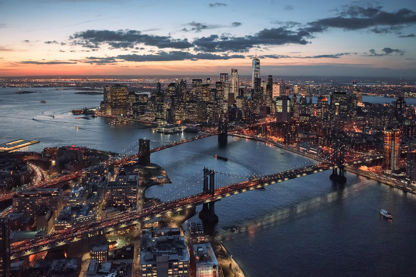 New York Manhattan von Oben - Stefan Schäfer Landschaftsfotograf