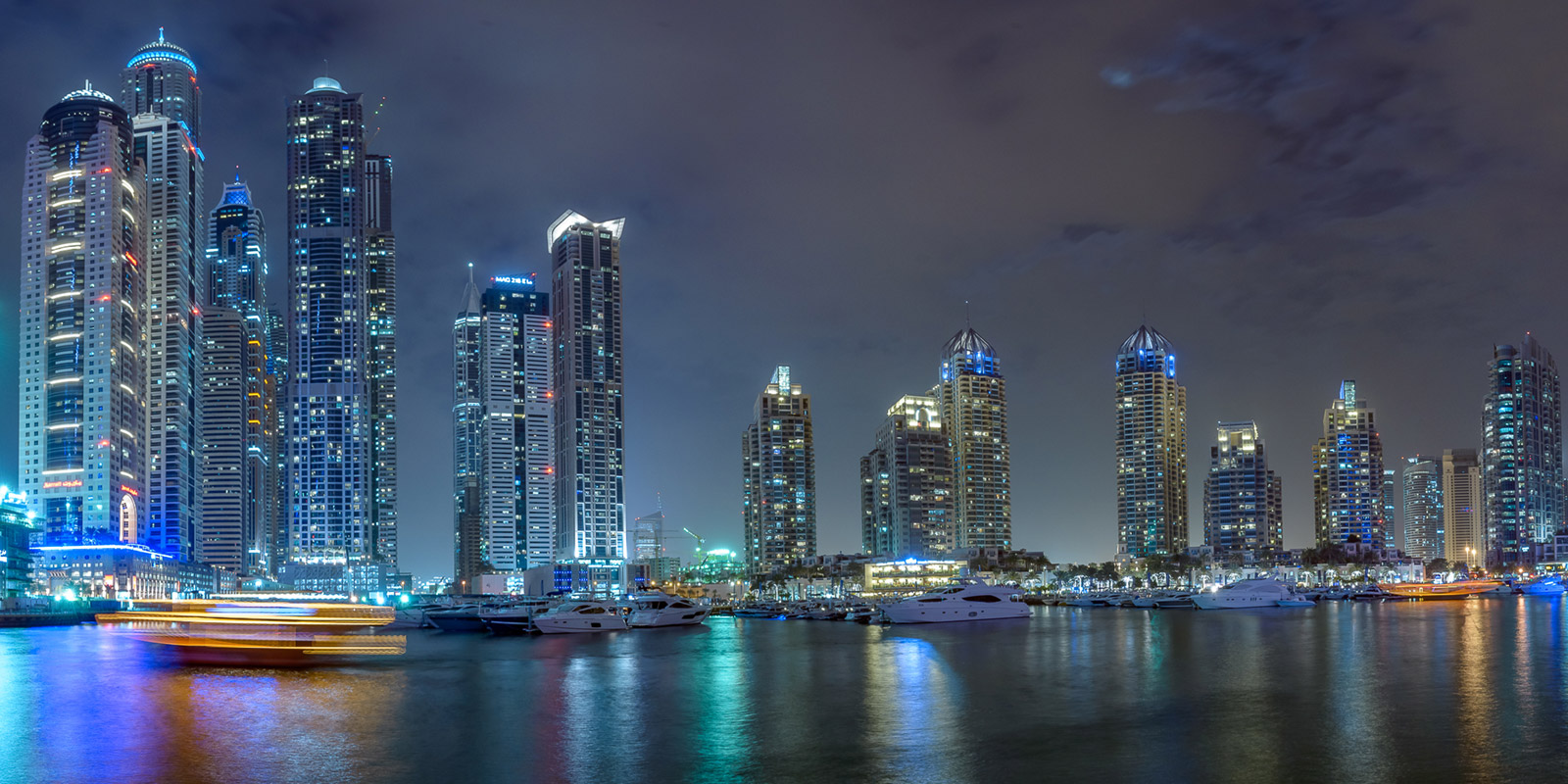 Dubai Marina Panorama - Stefan Schäfer Landschaftsfotograf