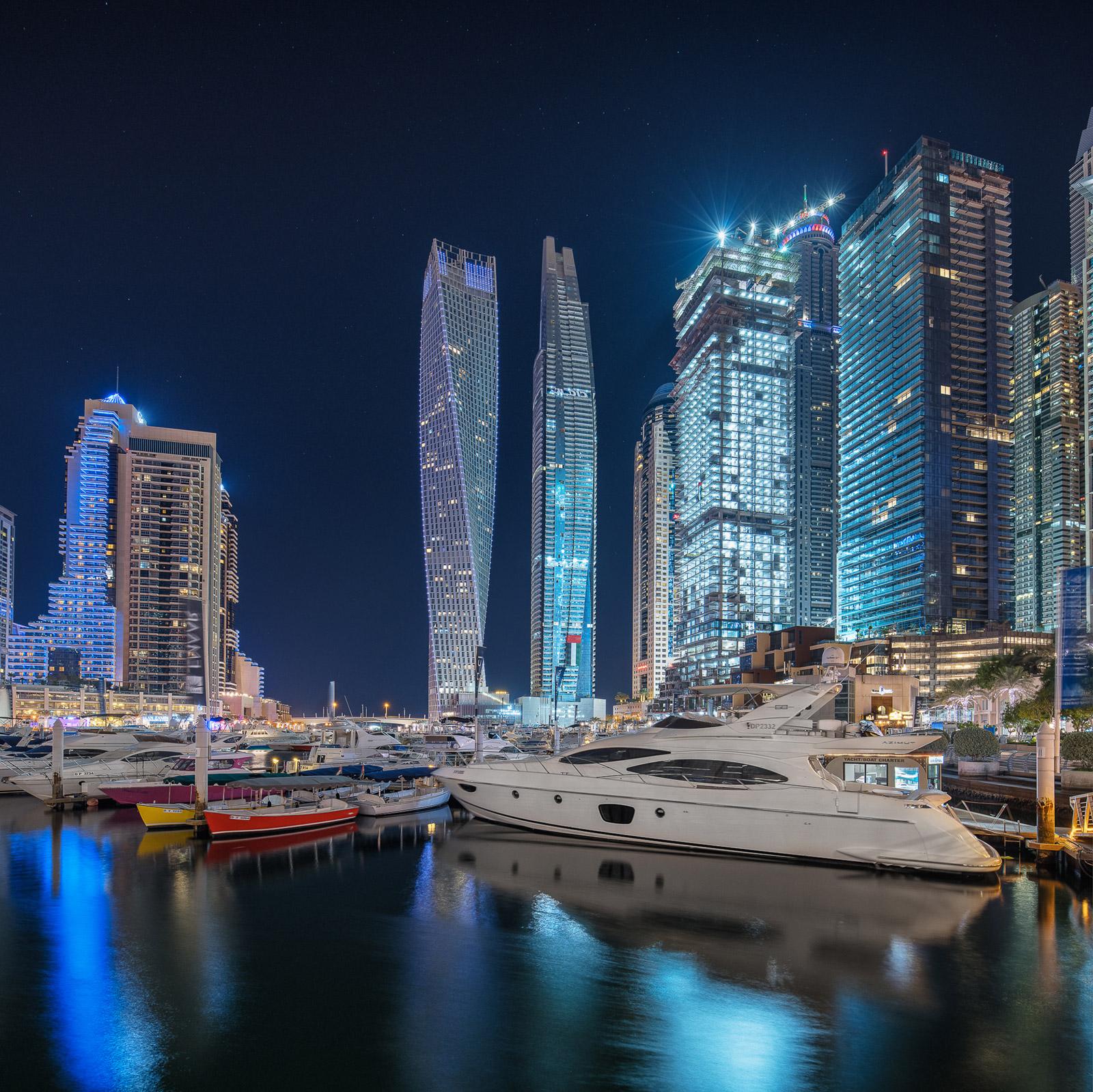 Dubai Marina Skyline - Stefan Schäfer Landschaftsfotograf