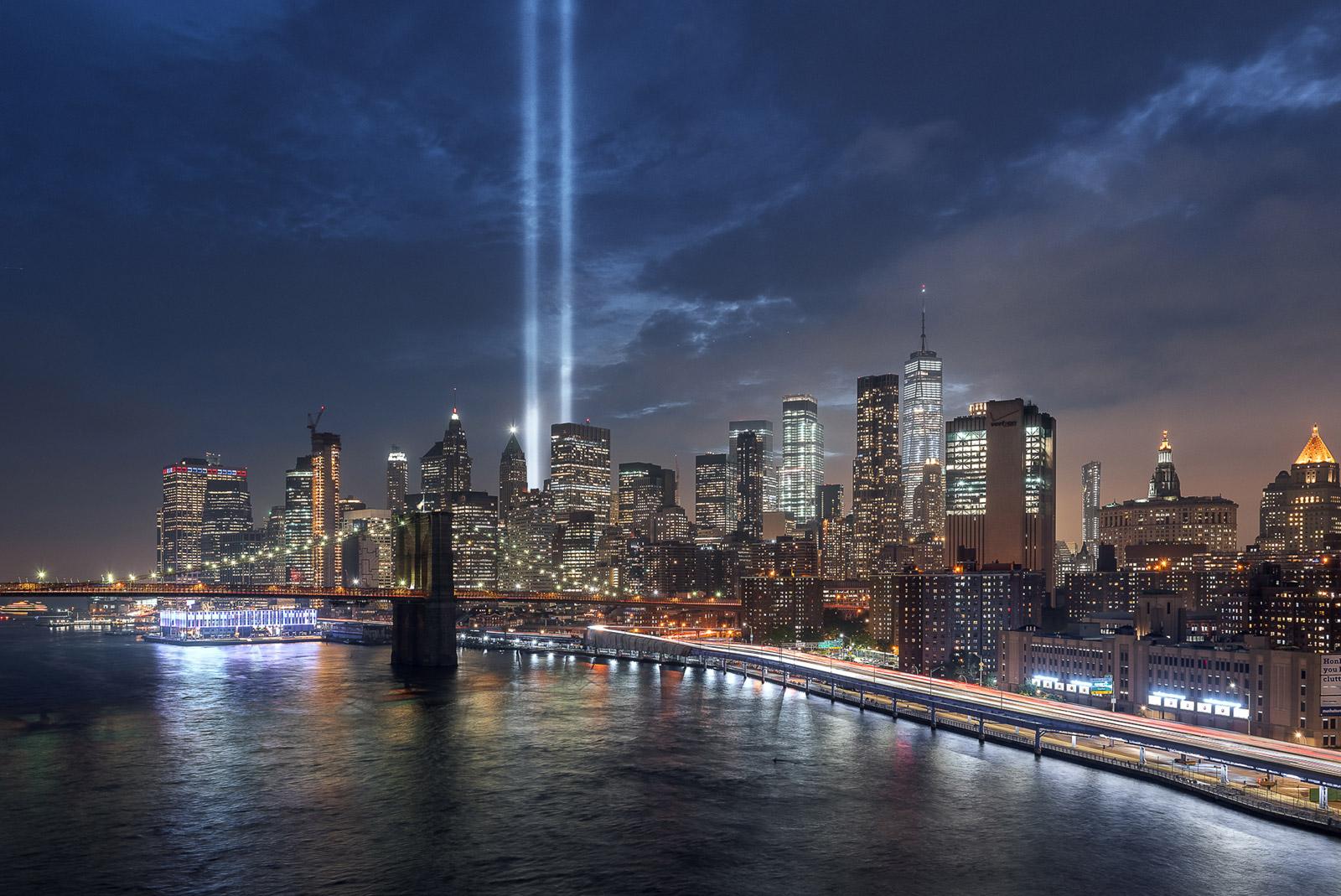 Die Memorial Lights in New York City - Stefan Schäfer Landschaftsfotograf
