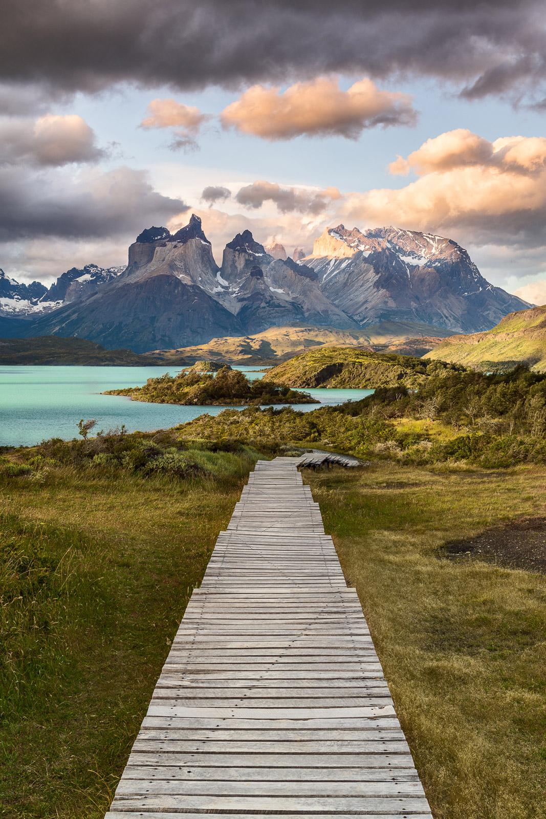 Patagonien in Chile Holzweg - Stefan Schäfer Landschaftsfotograf