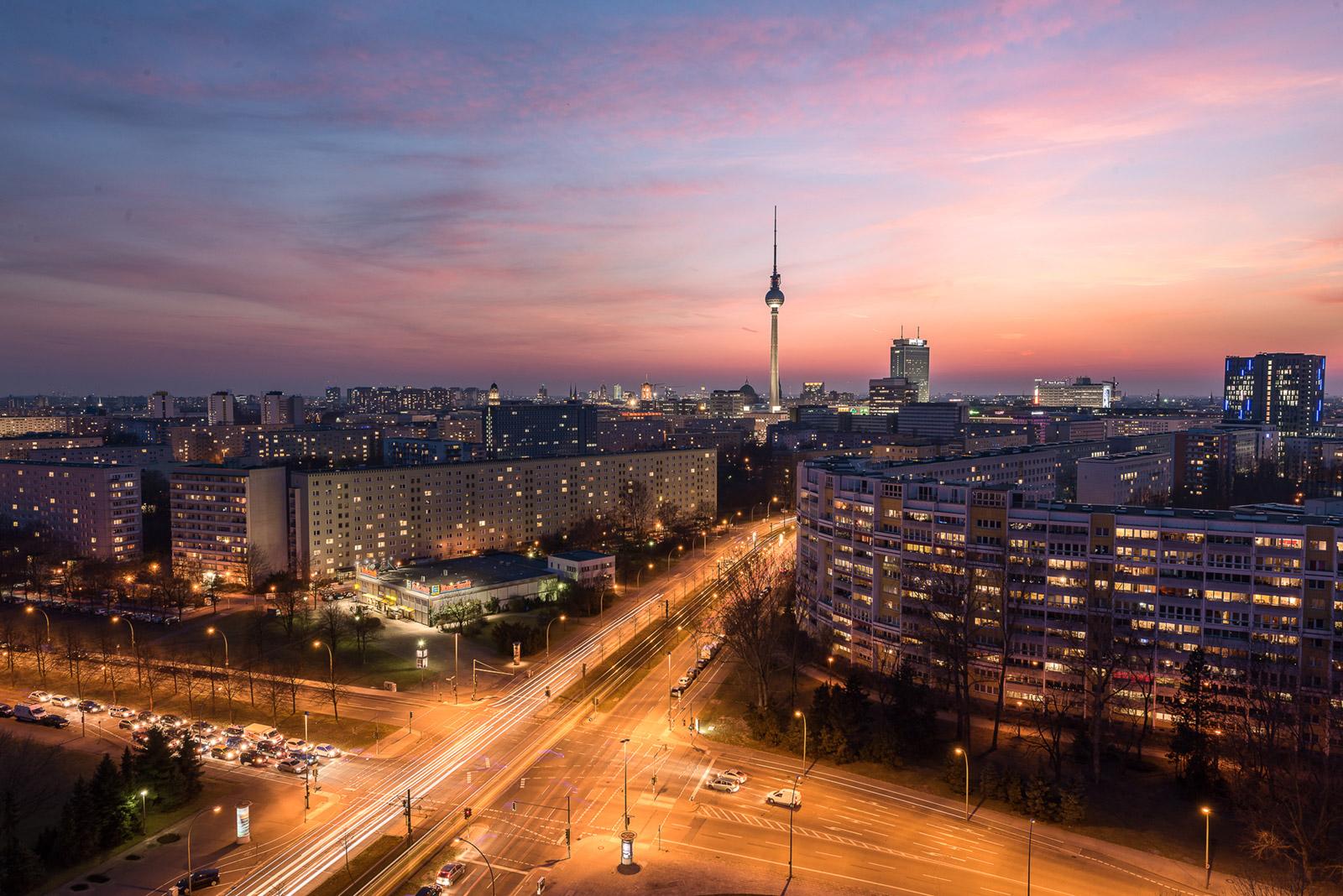 Platz der vereinten Nationen in Berlin - Stefan Schäfer Landschaftsfotograf