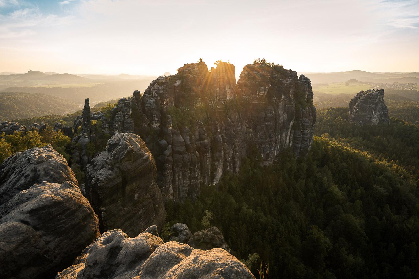 Schrammsteine in Deutschland - Stefan Schäfer Landschaftsfotograf