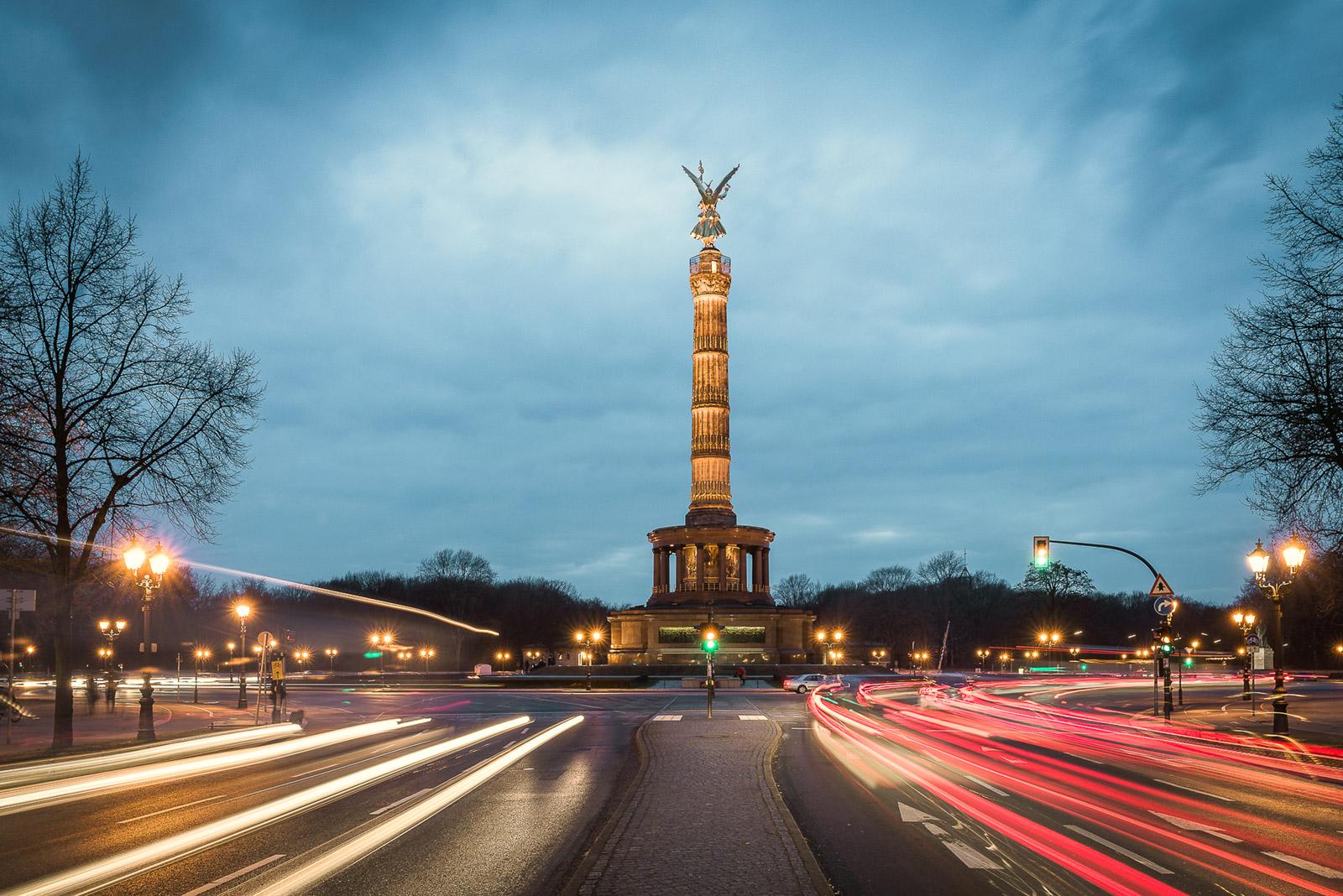 Siegessäule Goldelse Berlin - Stefan Schäfer Landschaftsfotograf