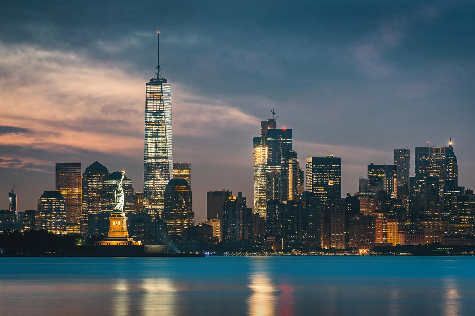 New York City Skyline - Freiheitsstatue und One World Trade Center - Stefan Schäfer Landschaftsfotograf