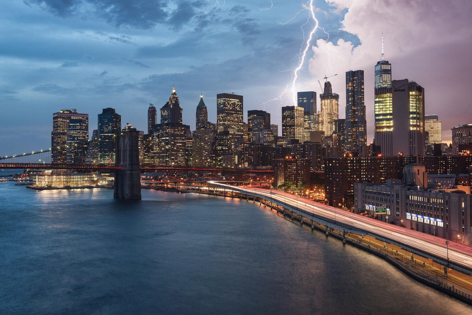New York City Gewitter Skyline - Stefan Schäfer Landschaftsfotograf