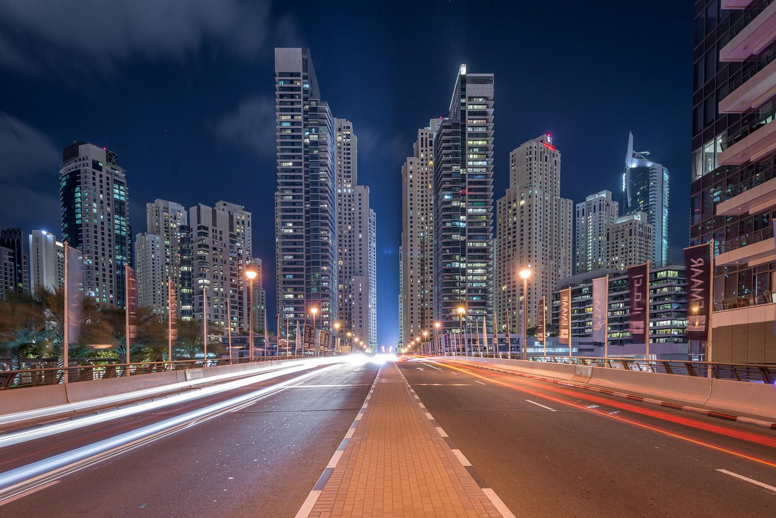 Straße in Dubai - Stefan Schäfer Landschaftsfotograf