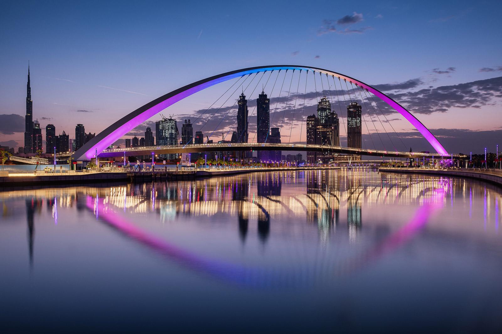 Tolerance Bridge in Dubai - Stefan Schäfer Landschaftsfotograf