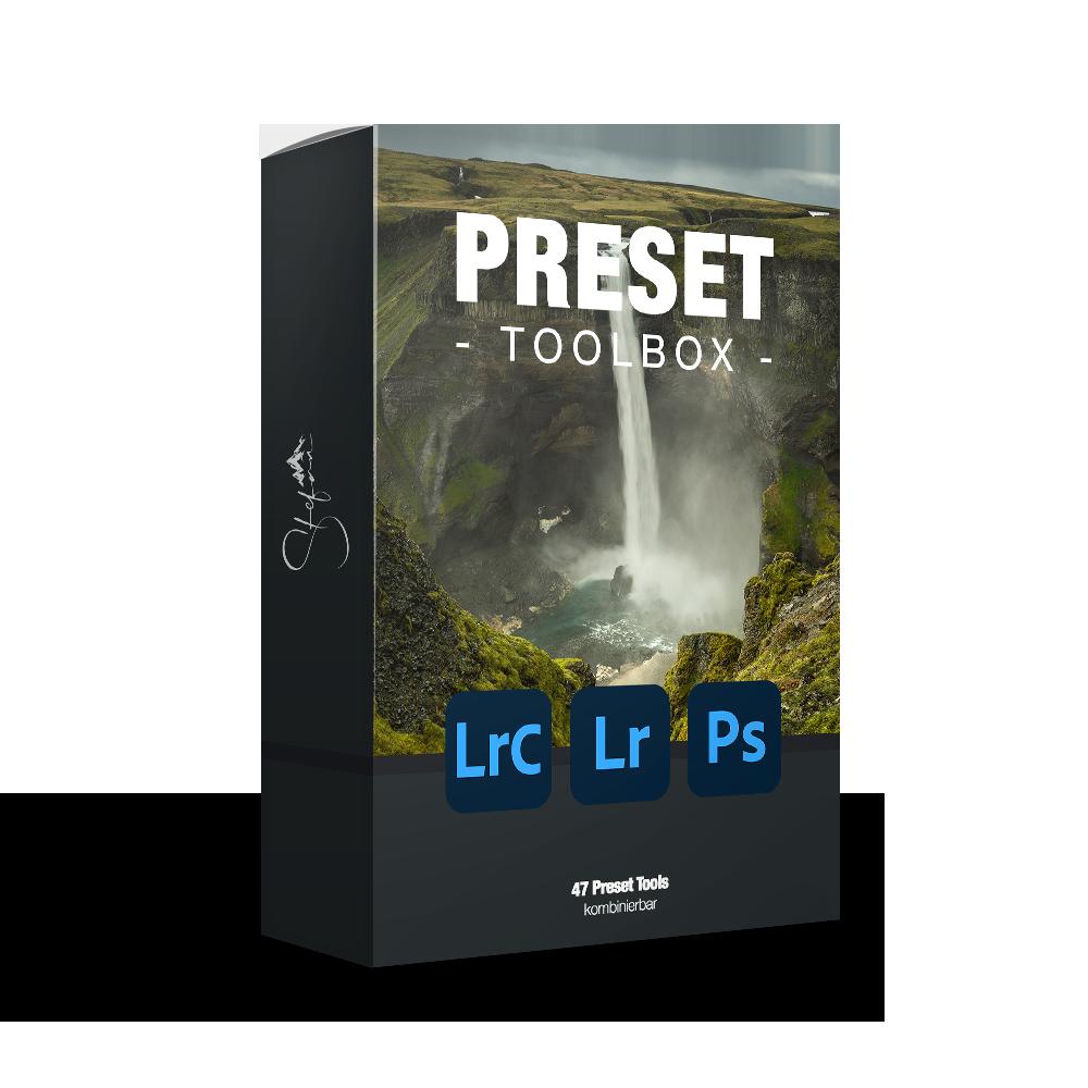 Preset Toolbox für Lightroom und Photoshop