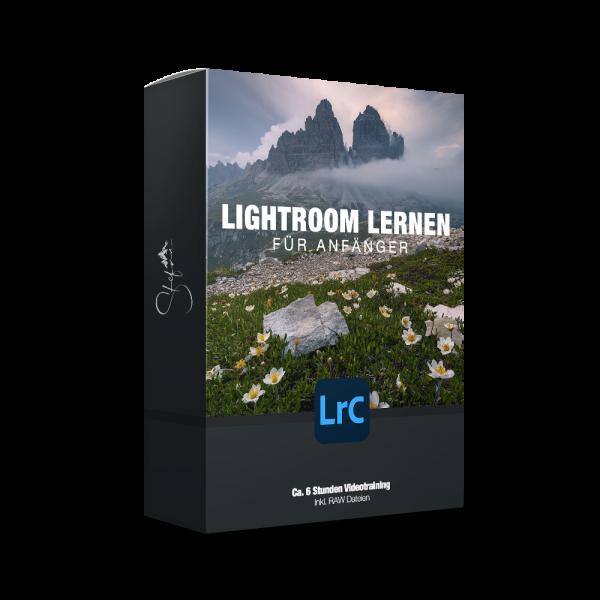 Lightroom lernen für Anfänger Videotraining